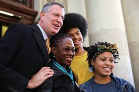 Trendy NYC liked a far left loon for mayor because this mixed race thing is just so cooool now.