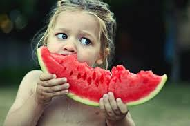 Water melon is racist....what does this little white racist think she's doing?