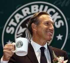 Nation's newest big time race pimp: Starbuck's Schultz.
