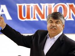 Listening to Trump on Scott Walker - sounds a lot like Richard Trumka